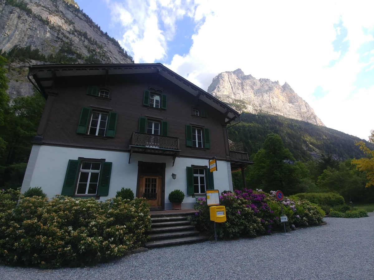 Lauterbrunnen, the real-life Rivendell